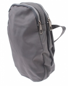 TOM saddlebag 1,20 Liter grau