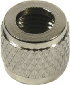TOM Valve top nut HV silver