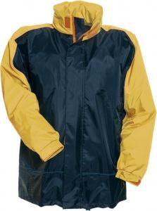 9d9bca1b8de Anuy regenjack Dover junior donkerblauw/geel