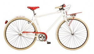 Aurelia 1028SU Single Speed 28 Inch Heren V-Brake Wit