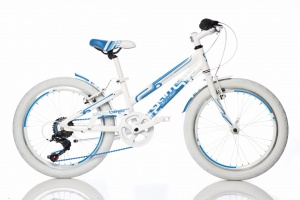 Aurelia Game Kit 1020G 20 Inch Meisjes 6V V-Brake Wit/Blauw