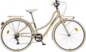 Aurelia Smart City 28 Inch Woman 6SP Rim Brakes Light Brown