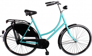Avalon Export 28 Inch 57 cm Woman Coaster Brake Turquoise