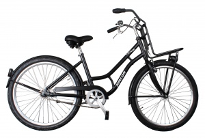 Avalon Lotus 26 Inch Woman Coaster Brake Black
