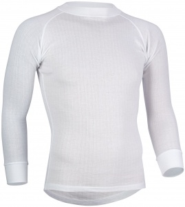 Avento Thermoshirt lange mouwen heren wit