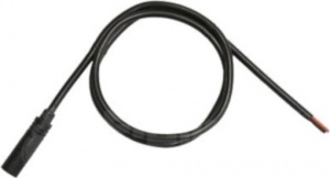 Bafang battery cable 8-Fun black 100 cm
