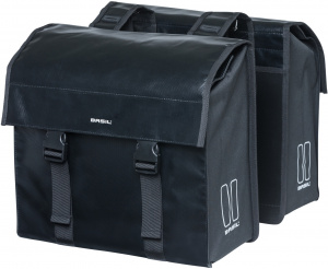 Basil double pannier Urban Load48-53 litres black - 17738