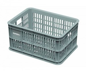 Basil bike crate plastic for 25 litres MIK green