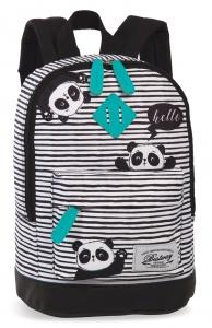 333e428d873e2 Bestway rucksack Pandaschwarz weiß 8 Liter