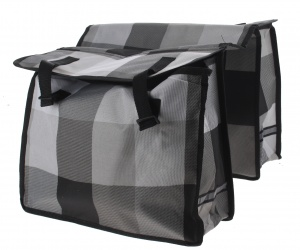 Bicycle Gear double pannier 31L gray