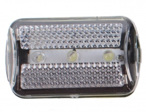 Bicycle Gear voorlicht led 6 x 3 cm