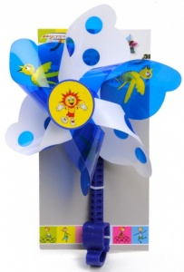 Bicycle Gear Children's windmill 28 cm blue