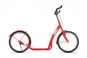 Bike Fun step 20 Inch Unisex Rim Brakes Red