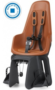 Bobike One Maxi fietszitje achter chocolate brown