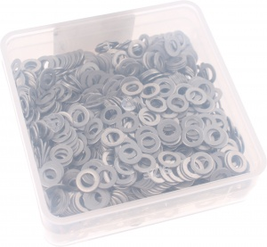 Bofix spoke plates around 13G stainless steel 1000 pieces