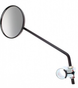 Busch + Müller Steering Mirror Small Round Bent