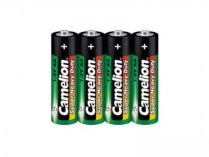 Camelion batteries AA LongLife 1.5V green/black 4 pieces