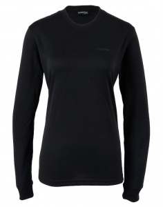 Campri Thermoshirt Thermal Top dames zwart