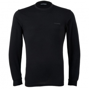 Campri Thermoshirt Thermal Top heren zwart
