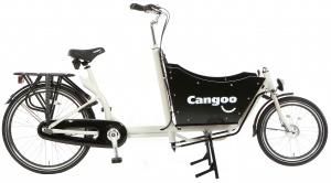 Cangoo Downtown N7 24 Inch Unisex 7V Terugtraprem Wit