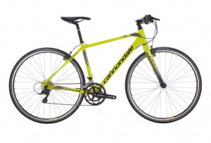 Cannondale Quick Speed 3 28 Inch Heren 18V V-Brake Geel