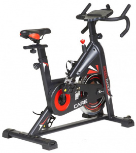 Care Fitness bicycle trainer Speed Racer 105 x 113 cm steel black