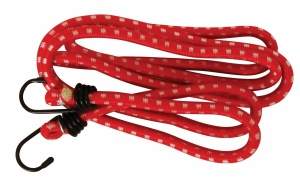 Carpoint luggage belt with hooks Ø10 mm red 200 cm