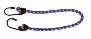 Carpoint luggage belt with hooks Ø8 mm purple 40 cm
