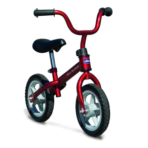Chicco Red Bullit loopfiets 10 Zoll Junior Rot