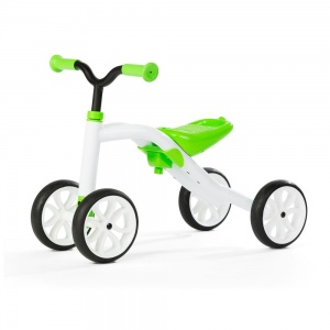 Chillafish Quadie loopfiets Junior Wit/Lime