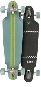 0192ed0090 Choke Longboard Curl Elite green   black