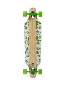 6c8a1d42d1 Choke Longboard Flower White Green