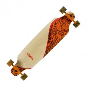 6d9afef23c Choke Longboard Swing II Elite Topmount orange