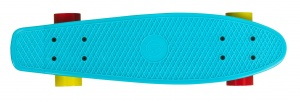 Choke Skateboard Shady Lady Juicy Susi 22,5 inch lichtblauw