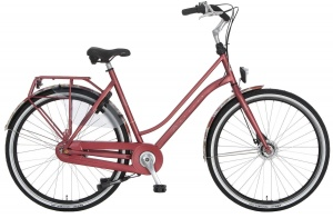 Cortina Roots Original 28 Inch Dames 7V Rollerbrakes Rood