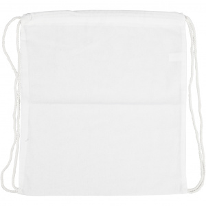 Creative Bag with pull closure 37 x 41 cm white