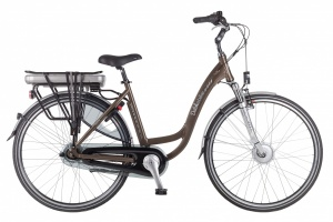 Dutchebike Touring II 28 Inch Woman 7SP Roller brakes Brown