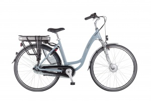 Dutchebike Touring II 28 Inch Woman 7SP Roller brakes Light blue