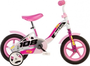 Dino 108L-Girl 10 Inch 17 cm Girls Fixed Gear White
