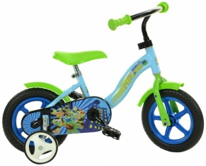 Dino Half-Shell Heroes 10 Inch Junior Doortrapper Blauw