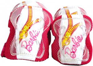 Dino Protection Set Barbie Girls Pink / White