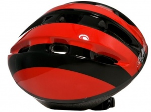 Dino Cycling helmet AC Milan child red / black