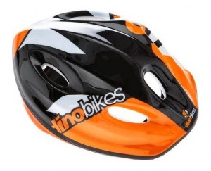 Dino cycling helmet Cascojunior 52-56 cm orange/black