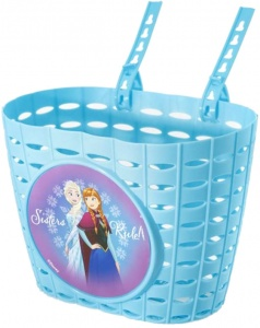 Dino bicycle basket Frozen blue 4 liters