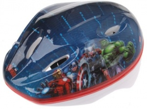 Dino Kids Helmet Avengers 52 to 56 cm blue