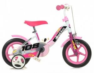 9705816b0d7 Lowest price guarantee Dino meisjesfiets 10 Inch 17 cm Girls Caliper Pink /White