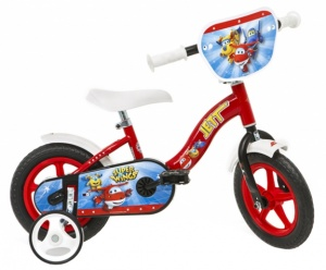 Dino Super Wings 10 Inch Jongens Doortrapper Rood