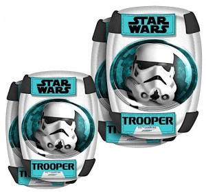 Disney Set de protection Star Wars blanc / turquoise taille S