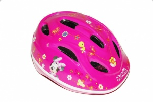 Disney Fiets- Skatehelm Minnie Mouse roze