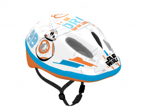 Disney fietshelm BB8 junior wit